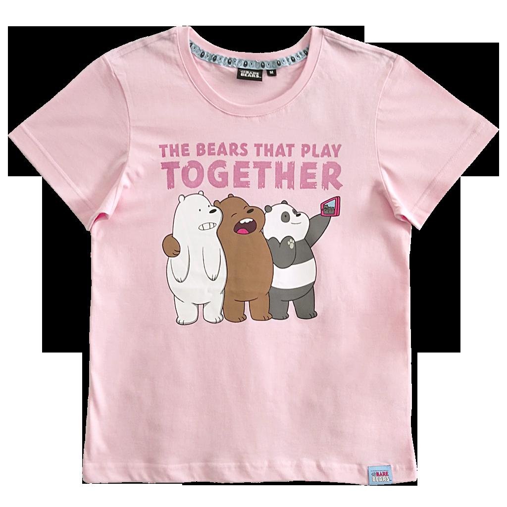 1ae965b7161 We Bare Bears Graphic T-Shirt - COMMON SENSE