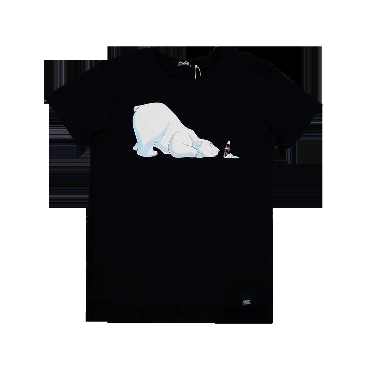 31143669c Coca-Cola Polar Bear Unisex Graphic T-Shirt - COMMON SENSE
